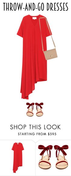"""""""dress"""" by faye-valentine on Polyvore featuring Maison Margiela and Valentino"""
