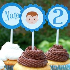 Personalized Cupcake Toppers