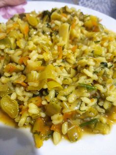 Risotto, Rice, Ethnic Recipes, Food, Greek, Essen, Meals, Yemek, Greece