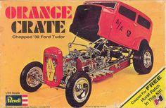 orange crate dragster