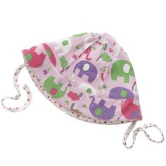 117d5382087 This organic cotton reversible sun hat by Piccalilly makes a great little  eco baby gift on its own or fabulous to match with a shortie playsuit.