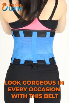 Slim your waistline up to inches with the Stretch & Adjust Waist Belt! Put it on for instant, gorgeous, hourglass curves and sculpt your figure for a slimmer appearance. Waist Trainer Corset, Fitness Workout For Women, Lower Abdomen, Belly Fat Workout, New Shape, Workout Routines, Workouts, Daily Activities, Academia