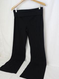 Ann Taylor LOFT Black Yoga lounge Pants Size Medium M New  #AnnTaylorLOFT #CasualPantsYoga #Yoga
