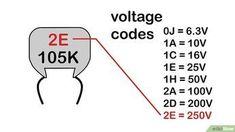 How to Read a Capacitor. Unlike resistors, capacitors use a wide variety of codes to describe their characteristics. Physically small capacitors are especially difficult to read, due to the limited space available for printing. Hobby Electronics, Electronics Components, Electronics Gadgets, Electronics Projects, Electronic Circuit Projects, Electronic Engineering, Electrical Engineering, Electronic Schematics, Electronic Parts