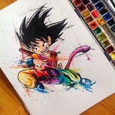 Goku - Dragon Ball - Visit now for 3D Dragon Ball Z compression shirts now on sale! #dragonball #dbz #dragonballsuper