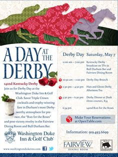#DerbyDays