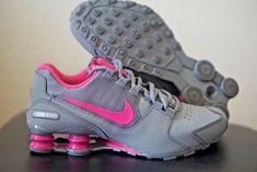 aca07a2dcb8 Nike Shox Avenue GS 6Y Kids 7.5 Womens Grey Pink 848117-006  Nike