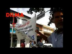 Cubano Revolucionário faz protesto em favor do socialismo no Brasil