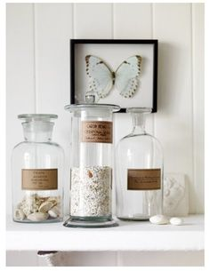 ~ apothecary jars
