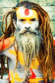 beautiful photo series of sadhus in nepal