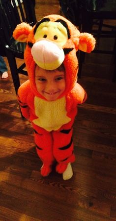 My Boy Wore A Tigger Costume To the Thunderdome by @big-top-family-blog