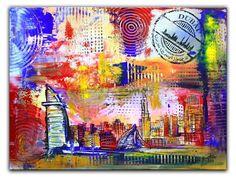 Burj al Arab Dubai Original Gemälde Malerei Painting Bilder 60x80