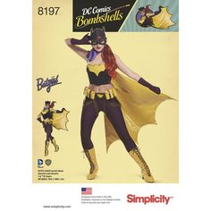 Simplicity Launches DC Bombshells Patterns For Cosplayers | Geek and Sundry
