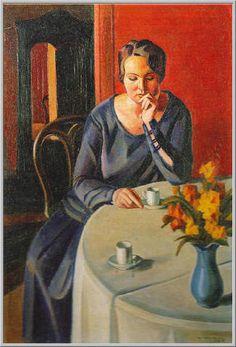 La Tazza di Caffè, 1925 - Mario Tozzi (Italian, 1895-1979)