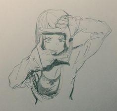 メディアツイート: コトヤマ(@cot_510)さん | Twitter Anime Drawings Sketches, Anime Sketch, Cool Drawings, Anime Art Girl, Manga Art, Manga Anime, Anime Character Drawing, Character Art, Human Anatomy Art