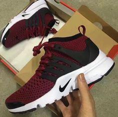new style ecac6 73ff4 Nike Presto Burgundy, Burgundy Nike Shoes, Nike Shoes Maroon, Burgundy  Sneakers, Red