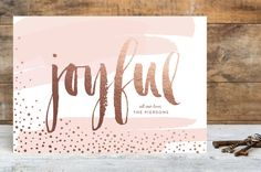 Very Joyful by Erin Deegan at minted.com