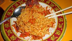 Food N, Food And Drink, Kfc, Spicy, Meat, Chicken, Cooking, Ethnic Recipes, Noodles