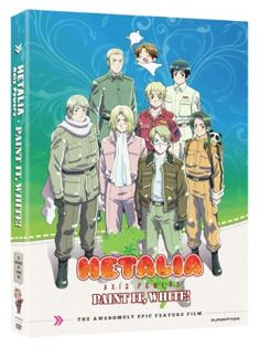Hetalia Axis Powers Movie: Paint It, White DVD (Hyb) $12.49 at RightStuf.com.