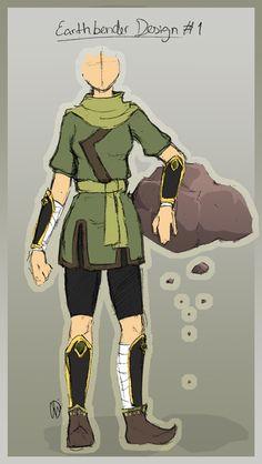 :: earthbender outfit design by blu-rayen.deviantart.com on @deviantART