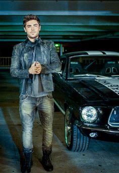Zac Efron for John John Denim | Tom & Lorenzo
