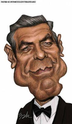 George Clooney by Jak-Lemonnier