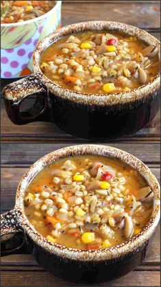 Vegan Barley Soup