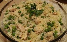Érdekel a receptje? Kattints a képre! Risotto, Chili, Seafood, Good Food, Rice, Baking, Ethnic Recipes, Main Courses, Cook
