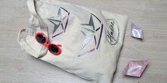 IZINK Diamond Argenté & Rose avec pochoir Bateaux Origami Origami, Reusable Tote Bags, Rose, Stencil, Boats, Roses, Paper Folding