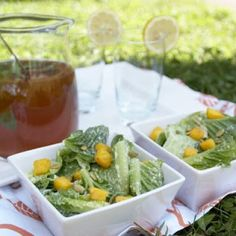 Living Caesar Salad by Plant-Powered Kitchen