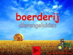 Digibordles: de boerderij. Welk dier maakt dit geluid? http://digibordonderbouw.nl/index.php/themas/boerderij/boerderijdigibordlessen/boerderijalgemeen/viewcategory/180-boerderij