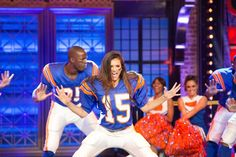 spike: We found ourselves a cheerleader! @ninadobrev #LipSyncBattle