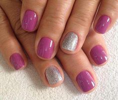 Make an original manicure for Valentine's Day - My Nails Love Nails, How To Do Nails, Pink Nails, My Nails, Manicure, Shellac Nails, Acrylic Nails, Nail Polish, Colorful Nail Designs