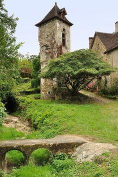 Carennac dans le Lot  est l'un des plus beaux villages de France   par Dubus Laurent