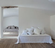 Lovenordic Design Blog: A mixed selection of white bedrooms...