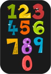 This is a mathematics visual that is appropriate for first or second graders.
