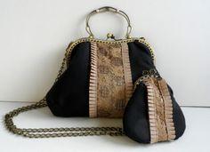 bolso boquilla vintage hecho a mano. www.lolitasala.es
