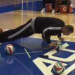 Mikhail Prokhorov takes working out to the next level at Nets training camp (video) - http://blog.clairepeetz.com/mikhail-prokhorov-takes-working-out-to-the-next-level-at-nets-training-camp-video/