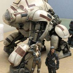 Rocketumblr | サイトウヒール1/20 Golem -Kai- & Robot Battle V Pilot...