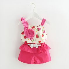 Cheap sport suit for girls, Buy Quality suit for girls directly from China toddler girl clothing sets Suppliers: Baby Clothes Sets 2017 Summer Toddler Girls Clothing Set Flower Sleeveless Brand Casual Sports Suit for Girls Years Girls Summer Outfits, Toddler Girl Outfits, Toddler Fashion, Kids Fashion, Summer Clothes, Casual Clothes, Summer Girls, Toddler Girls, Wholesale Children's Boutique Clothing