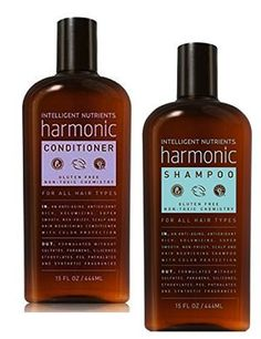Intelligent Nutrients Harmonic Shampoo and Conditioner Set, 15 Ounces * You can find more details by visiting the image link.