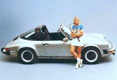 Martina Navratilova & Porsche 911 SC Targa