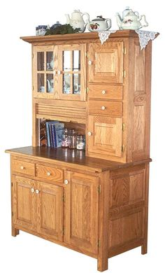 OFF Amish Furniture - Hand Crafted Shaker and Mission Furniture Online Outlet Store: Meredith's Hoosier Hutch: Cherry Mission Furniture, Amish Furniture, Country Furniture, New Furniture, Online Furniture, Furniture Buyers, Furniture Dolly, Furniture Stores, Furniture Cleaning