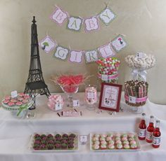 Chic PARIS Baby Shower DIY Party Printables by CreativeStationery, $17.00