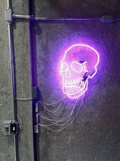 ST GOLIATH KIDS // COOL STUFF. Purple neon Skull! www.stgoliathkids.com
