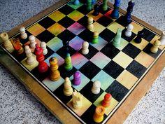 """Colorful chess"" 201. felix arburola b CostaRica"