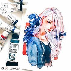 #welovethis by @ashiyaart #art #draw #sketch
