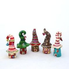 Cute little clay houses by kirby.gwilliam