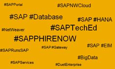 Have fun with #Database, #Technology and #HANA during SAPPHIRE NOW