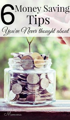 tips to save money you've never thought about